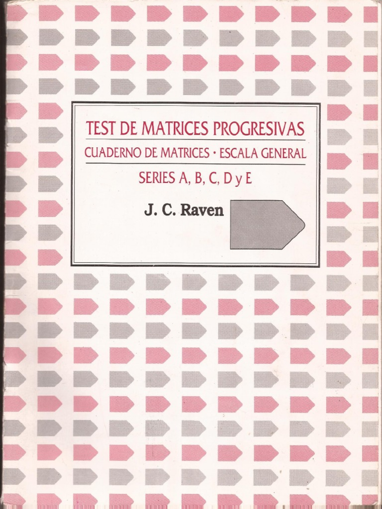 test de matrices progresivas 2