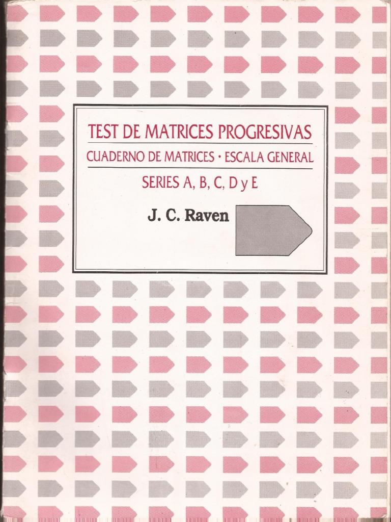 test de matrices progresivas 2